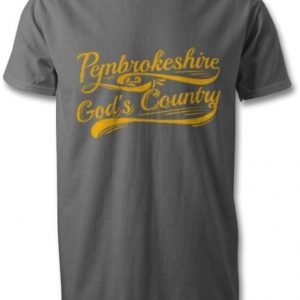 Pembrokeshire God's Country T-Shirt