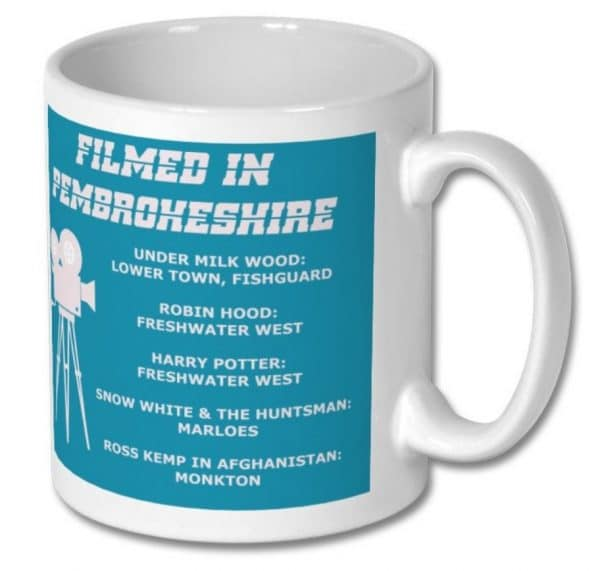 Filmed in Pembrokeshire Mug