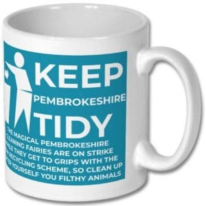 Keep Pembrokeshire Tidy Mug