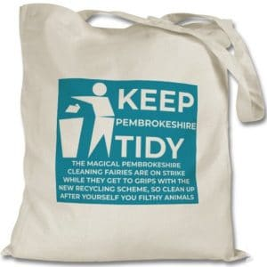 Keep Pembrokeshire Tidy Tote