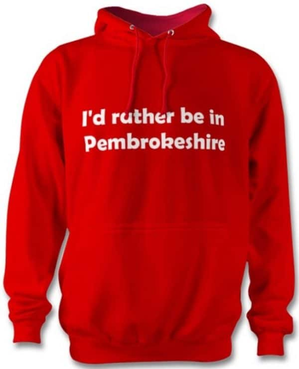 Rather be in Pembrokeshire Hoodie