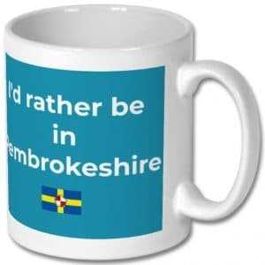 Rather be in Pembrokeshire Mug