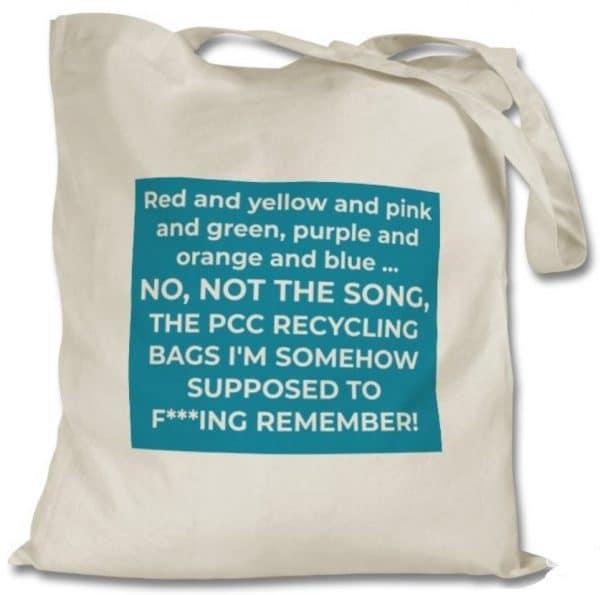 PCC Recycling Tote Bag