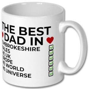 Pembrokeshire Father's Day Mug