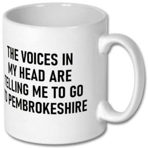 Pembrokeshire Voices Mug