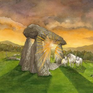 Sunrise at Pentre Ifan