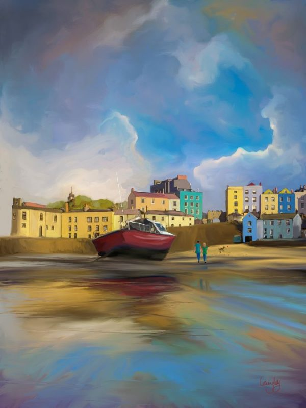Red Boat of Tenby