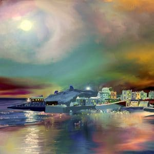 Tenby Moonlight memories