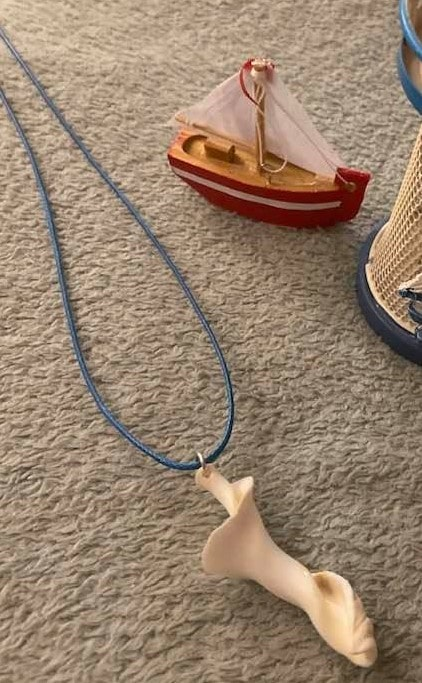 Twisted Tenby Shell Necklace