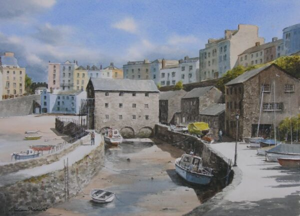The Sluice, Tenby Harbour